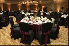 black and pink wedding reception ideas | My Wedding 7~13~13 ...