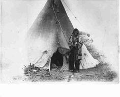 Индеец Черноногих, 1881 год.