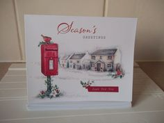 12 X SEASON S GREETINGS CARDS WITH ENVELOPES
