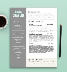 resume template cv template cover letter letterhead stationery microsoft word fully - Resume Templates Microsoft