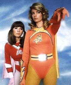 Electra Woman and Dyna Girl.  When it came out it was the closet thing to a superhero TV show at the time.  So naturally, I took it.