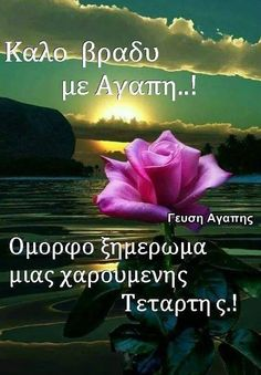 Good Night, Good Morning, Greek Love Quotes, Beautiful, Decor, Pictures, Nighty Night, Buen Dia, Decoration