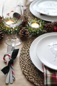 Christmas Tablescape | The Mother Cooker