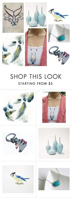 Winter Blues by inspiredbyten on Polyvore featuring Lazuli, Napco, BMW and vintage