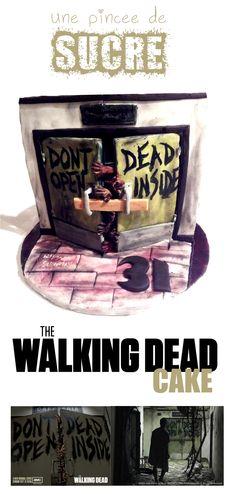 The Walking Dead Cake, but still. Dont dead open inside? XD