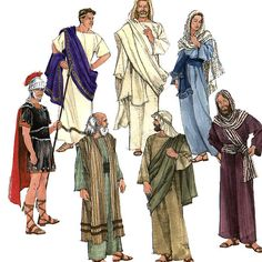 Bible costumes | Simplicity 8108 Adult Passion Play Biblical Costumes Sewing Pattern ...