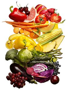 Eat Bright: Healthy Fruits & Veggies