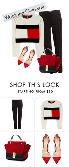 """""""WEEKEND TOMMY HILFIGER"""" by estermontanari-136 on Polyvore featuring Etro, Tommy Hilfiger, Gianvito Rossi, women's clothing, women, female, woman, misses and juniors"""