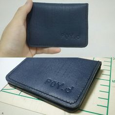 "Big Thanks k.poy.d for asking ""The Leather name card holder and Mini wallet"" and supporting my work   ขอบคุณ K Poy.d ที่ถามหากระเป๋านามบัตรและสนับสนุนสินค้าของเรา  All products are made to order..shop link in my bio😊  Ps. customer from IG"