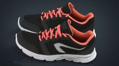 f67505359d2a Womens sneakers 3D Model .max .c4d .obj .3ds .fbx .lwo