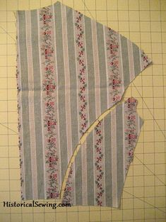 Great British Sewing Bee :: Series 2, week 2 Matching stripes - tutorial