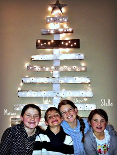 Reclaimed Wood Christmas Tree | Time Lapse | MyAlteredState