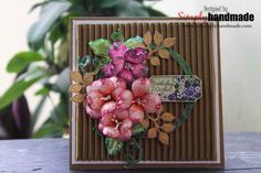 #itssimplyhandmade#handmadeflowers#greetinsgcard@heartfeltcreations