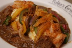 #PuleosGrille #food #yummy  unbeatable Shrimp & Grits
