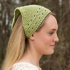 Crochet Hair Kerchief Pattern : ... free pattern crocheted kerchief kerchief free craft ideas crochet