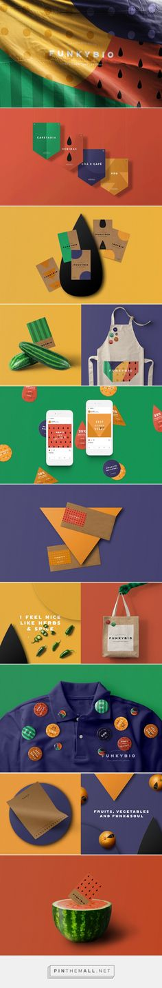 FunkyBio Organic Food Market Branding by Volta | Fivestar Branding Agency – Design and Branding Agency & Curated Inspiration Gallery