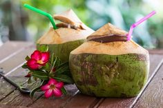 coconut water in the philippines!