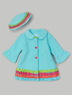 Keep her cozy and cute this fall! From zulily.
