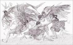 Hans Christian Andersen. BAŚNIE. Dzikie łabędzie. Illustrator Maja Chmura.