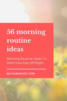 Use these morning routine ideas to start your day off on the right foot. Utilize them to be more productive, enhance your time management, and achieve your goals! Time Management Activities, Time Management Printable, Time Management Quotes, Management Books, Time Management Skills, Productive Things To Do, Things To Do At Home, Productive Day, Productivity Hacks