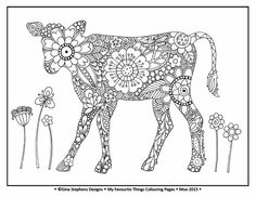 Farm Coloring Pages for Adults Farm Animal Coloring Pages, Pattern Coloring Pages, Colouring Pages, Adult Coloring Pages, Coloring Sheets, Coloring Books, Kids Silhouette, Doodle Coloring, Printed Pages