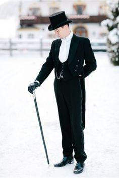 Black-Tailcoat-Groom-Wedding-Tuxedos-Groomsmen-Mens-Suit-Bridegroom-3-Piece