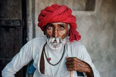 A Rabari tribal elder, who is also an itinerant magician, photographed in India, June 2010. The Last Roll of Kodachrome. Photographs by Steve McCurry
