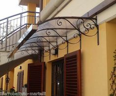 Gazebo Canopy, Wrought Iron, Curb Appeal, Decoration, Shelter, Stairs, Windows, House, Outdoor