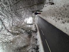 Winter wonderland Blackwood, Wales 2013