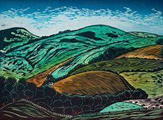 Art of Illustration | Woodcut prints by Helen Brown.
