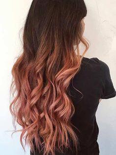 21 Rose Gold Hair Ideas > CherryCherryBeauty.com
