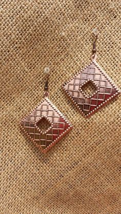 Michi's Boutique - $12.00   Copper Metal Earrings