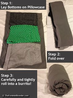 How can you pack nearly a week's worth of clothing into a carry-on with room to spare? TFB and her Ninja Tetris skills will show you the way!