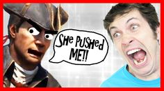 Best of Assassin's Creed 3 - SHE PUSHED ME!