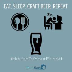 Eat. Sleep. Craft Beer. Repeat.