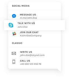Pepper – A friendly contact widget for your website.