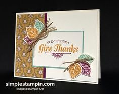 Stampin' Up! Thoughtful Branches Limited Editions Bundle, Suite Sayings Stamp…
