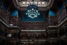 Biblioteca do Real Gabinete Português de Leitura, Rio de Janeiro, Brasil.