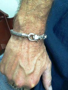 for Men ,women bracelet, braided silver sterling, special clasp, handmade,silver bracelet ,,,cremerdani design,israeli