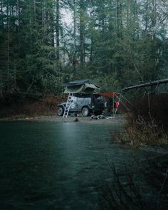""" is something you won't be hearing in the backcountry. Skip the RV park and check out for your next… Rent Rv, Virginia Mountains, Jeep Camping, Rv Parks, Rv Travel, Vintage Trucks, Vancouver Island, The Good Place"