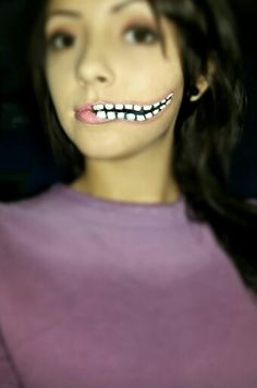 Teeth make-up
