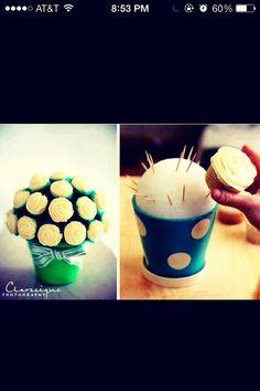 How To Make A Cupcake Arrangement#All#Trusper#Tip