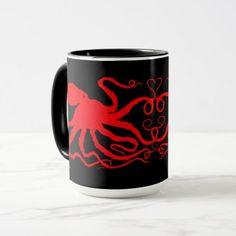 #Jackie's  Octopus - 15 oz. Combo Mug - #giftsforher #gift #gifts #her