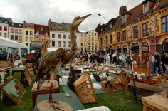 La Grande Braderie de Lille is an annual  flea market that has taken place since medieval times! - Linda Nylind & The Guardian