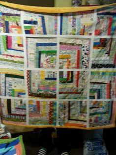 Yellow/orange plush back. Quilts, Blanket, Knitting, Logs, Orange, Yellow, Plush, Modern, Comforters