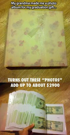 Graduation gift in disguise…