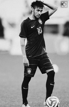 Discovered by veritaserum. Find images and videos about neymar, neymar jr and njr on We Heart It - the app to get lost in what you love. Neymar Jr, Football Neymar, Messi Soccer, Lionel Messi, Messi Y Cristiano, Good Soccer Players, Football Players, Sports Football, Fc Barcalona