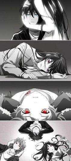 Yato, Hiyori and Yukine | Noragami / Noragami Aragoto #Anime #Manga