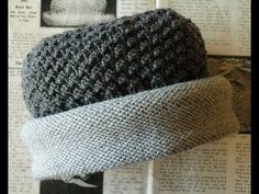 Video tutorial on a Downton Abbey inspired hat design by Annie of knitsofacto.blogspot.com