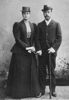 Nicholas II and Alexandra Feodorovna, 1894